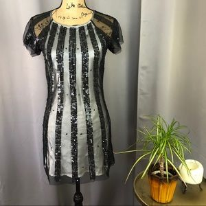 ARDEN B Sequined cocktail dress